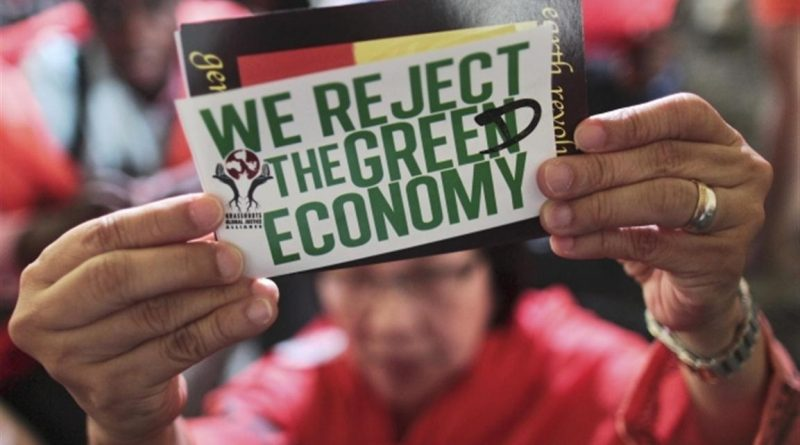 Reject the Greed Economy!