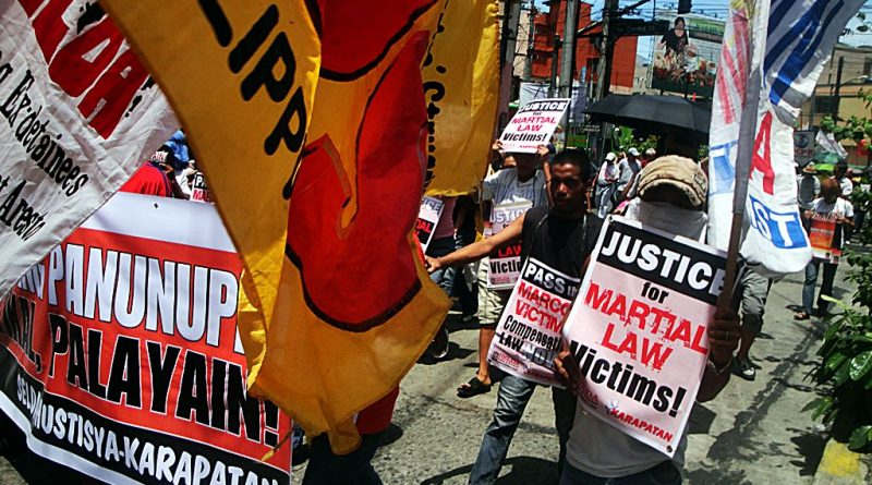 Justice for Martial Law victims!