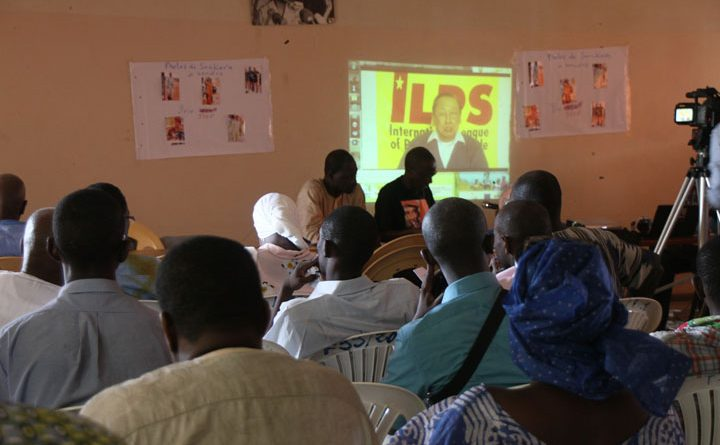 Thomas Sankara Commemoration Activity in Dakar, 15 Oct 2012. Photo from IBON International.