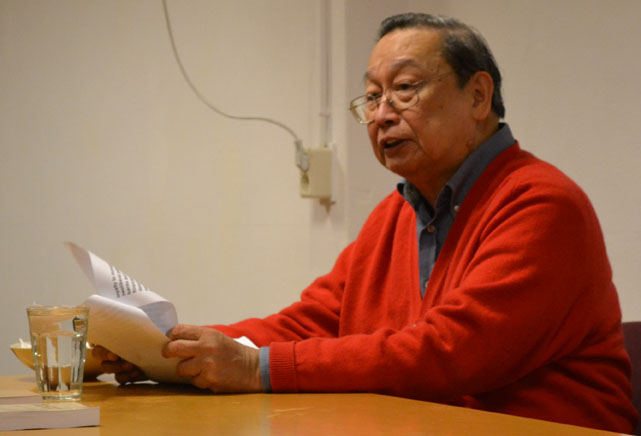 ILPS Chairperson Jose Maria Sison. File photo.