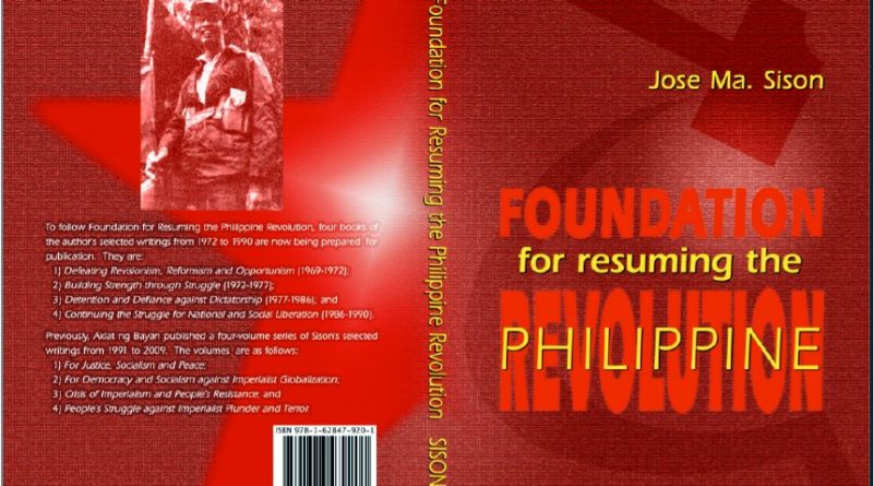 Foundation for Resuming the Philippine Revolution