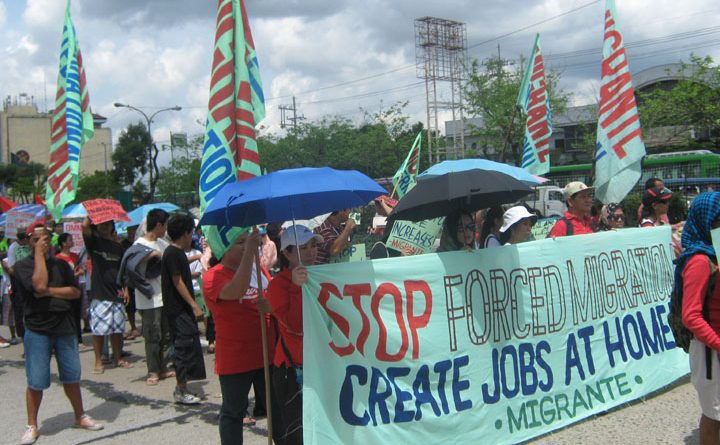 Stop forced migrantion! Create jobs at home!