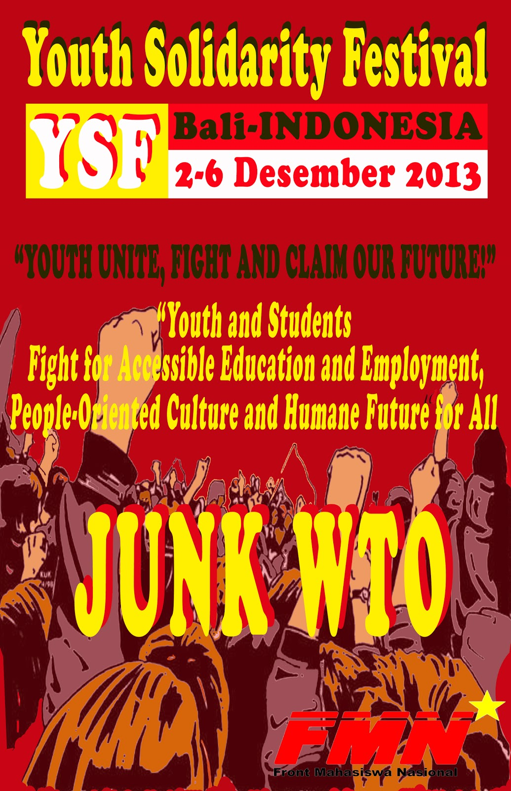 Youth Solidarity Festival, Bali, 2-6 December 2013