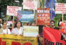 ILPS Philippines, BAYAN protest Israel genocide in Gaza