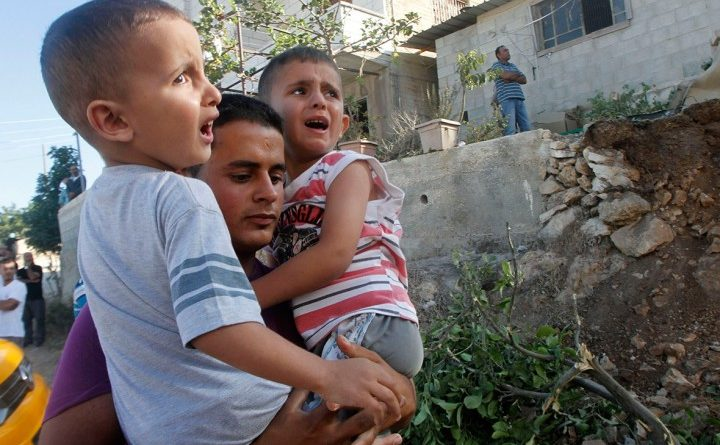 Gaza children victims