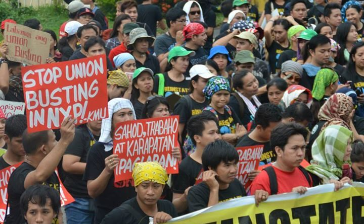 Solidarity with NXP Phil workers