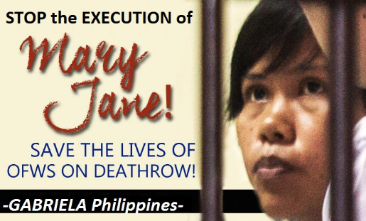 Save Mary Jane Veloso