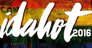 End the system that perpetuates homophobia, biphobia and transphobia!