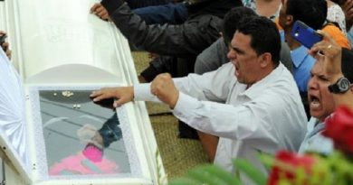 Justice for Berta Caceres and Nelson Garcia!