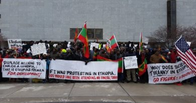 Oppose massive landgrabbing, human rights abuses by Ethiopian government