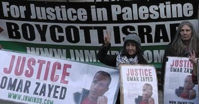 Justice for Omar Nayef Zayed, Justice for Palestine!