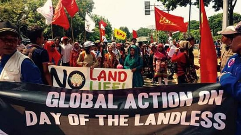 Fight for land, fight for life