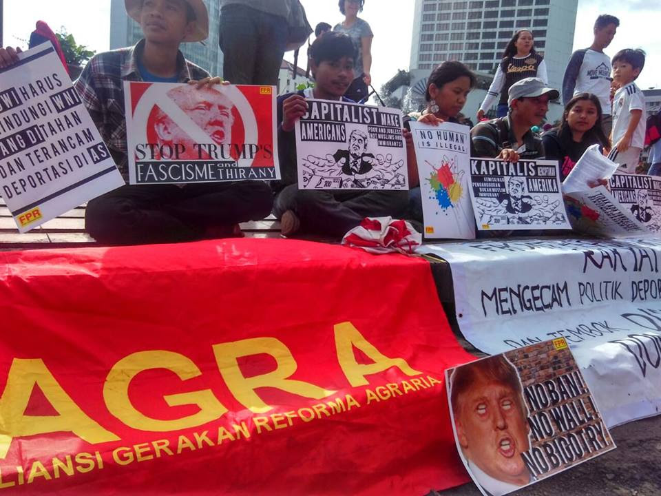 The FPR and ILPS-Indonesia Strongly Condemn Donald Trump's Policy of Deportation and the Discriminatory Wall