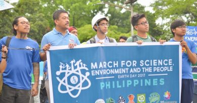March for Science, the Environment, and the People! Resist Imperialist Plunder, Environmental Destruction, and Deceit!