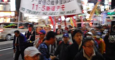 People in Asia-Pacific resist Trump's visit to the region!