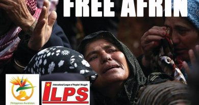 Kick out Turkey from Afrin – ILPS Philippines
