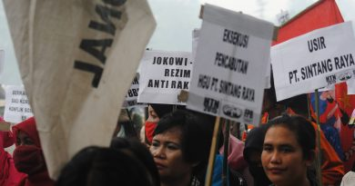 AGRA strongly condemns the illegal arrest of comrade Ayub, Chairperson of the Olak-Olak village branch of AGRA, West Kalimantan