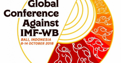Peoples Global Conference Against IMF-WB