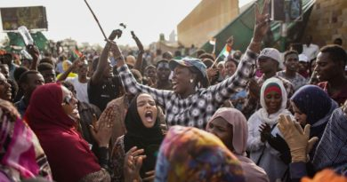 Solidarity with the Sudanese people in fighting for democracy and genuine change