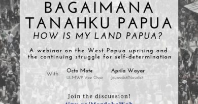 Online Conference on West Papua | Sep 13 | 10:00 GMT+8