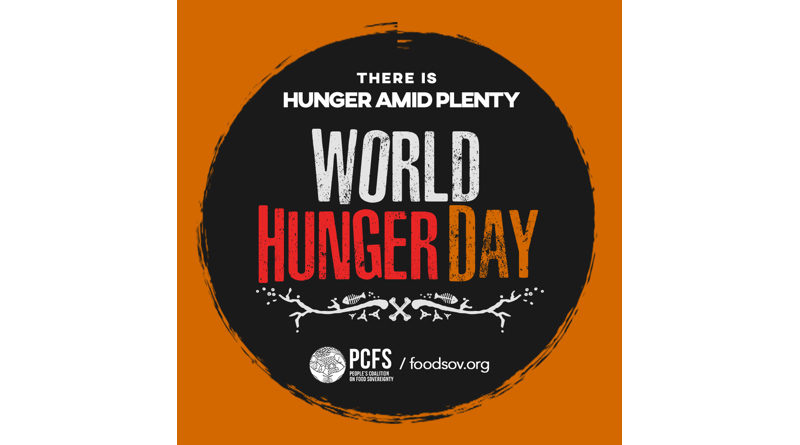 Zero Hunger is bound to fail, says int'l coalition
