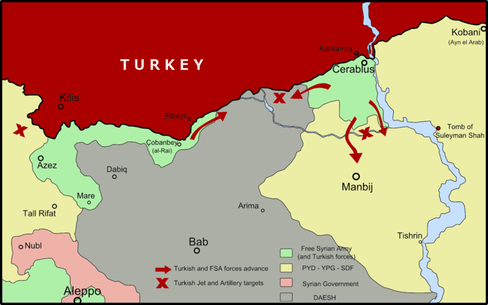 turkish offensive