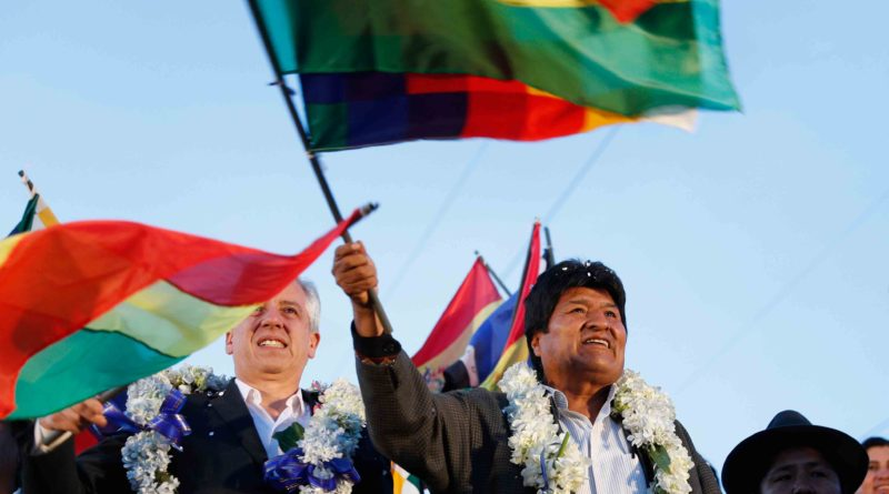 'We are not afraid!' Support Evo Morales and people of Bolivia