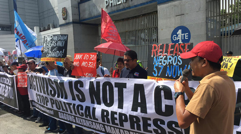 Phils workers demo 2019