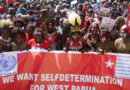 July 1 Global Day Ggainst annexation of Palestine and West Papua colonization
