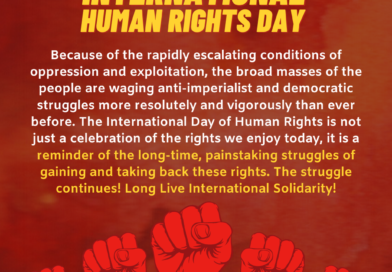 On the Commemoration of International Human Rights Day