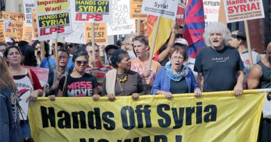 Biden's Syria strike highlights need for strong anti-war movement -ILPS