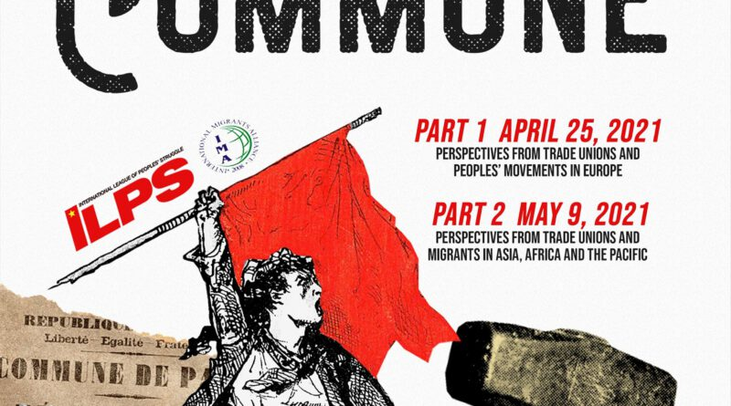 The Paris Commune: Its Continuing relevance to the workers' movement