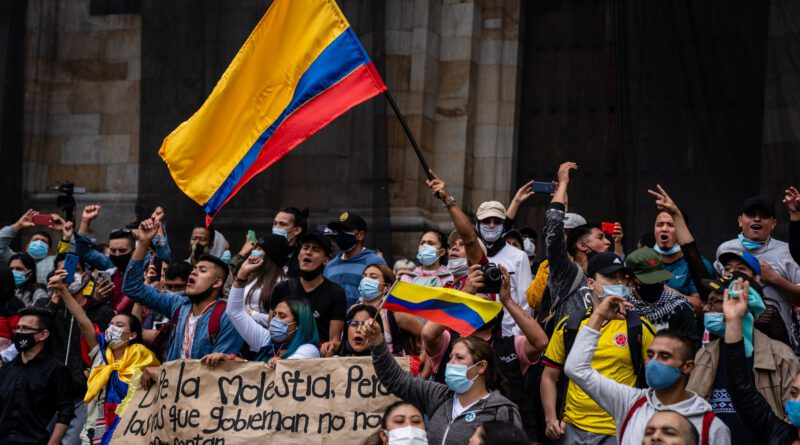 Stop the Fascist Attacks against the People of Colombia! Long Live the Colombian Peoples' Struggle!