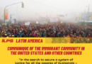 COMMUNIQUE OF THE IMMIGRANT COMMUNITY IN THE UNITED STATES AND OTHER COUNTRIES