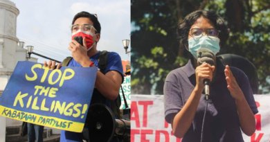 HANDS OFF JUSTINE MESIAS, FREE SASAH STA. ROSA! STOP THE ATTACKS ON THE YOUTH!