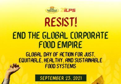 RESIST! End the Global Corporate Food Empire